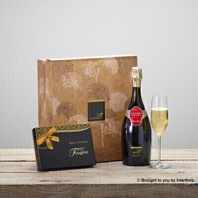Luxury Champagne and Chocolates Gift Set: Booker Flowers and Gifts