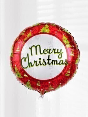Merry Christmas Balloon: Booker Flowers and Gifts