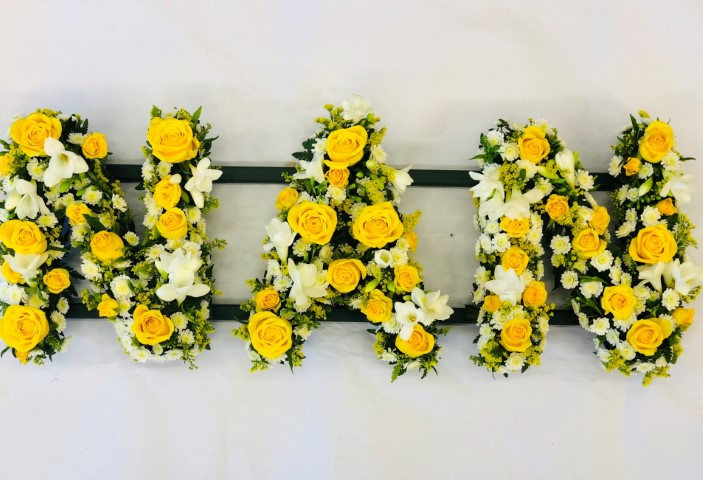 NAN Funeral Letters | Funeral Flowers