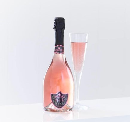 NUA Sparkling Rose Wine: Booker Flowers and Gifts