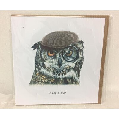 Old Chap Greeting Card by Rebecca Christian: Booker Flowers and Gifts