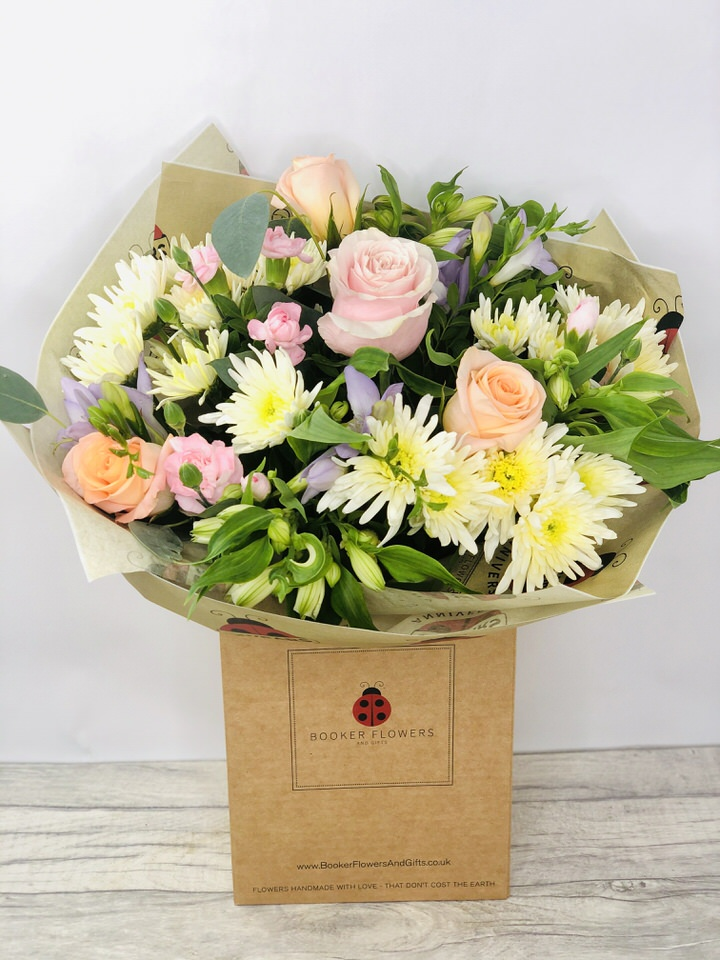 Opal Opulence Pastel Bouquet: Booker Flowers and Gifts