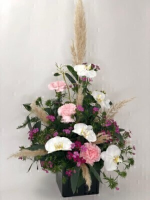 Orchid Flower Arrangement: Booker Flowers and Gifts