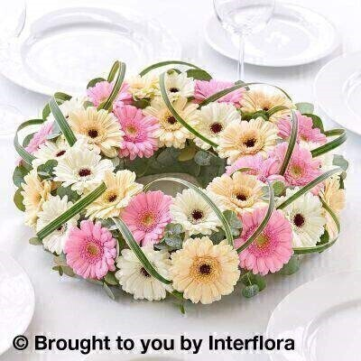 Pastel Germini Decorative Ring: Booker Flowers and Gifts
