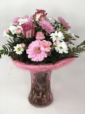 Pink Perfect Gift Plus: Booker Flowers and Gifts