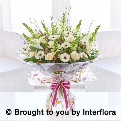 Precious Pearl Hand-Tied Extra Large: Booker Flowers and Gifts