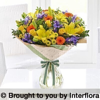 Radiant Favourites Handtied Extra Large: Booker Flowers and Gifts