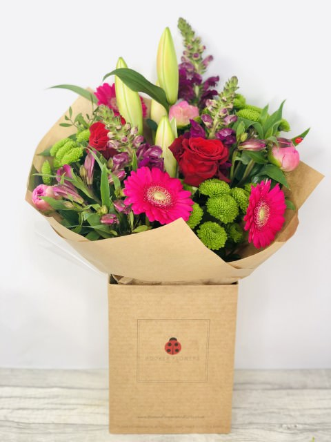 Romantic Rose and Peony Bouquet: Booker Flowers and Gifts