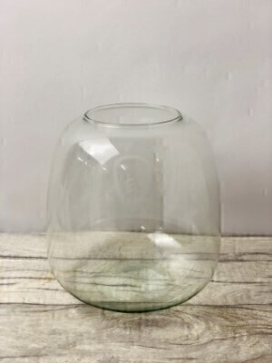 Small Recycled Glass Vase: Booker Flowers and Gifts