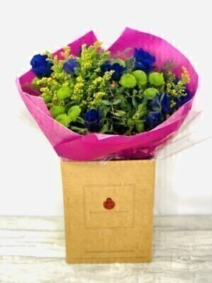 Spring Anemone Bouquet of Flowers: Booker Flowers and Gifts