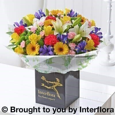 Spring Hand-Tied - EXTRA LARGE: Booker Flowers and Gifts