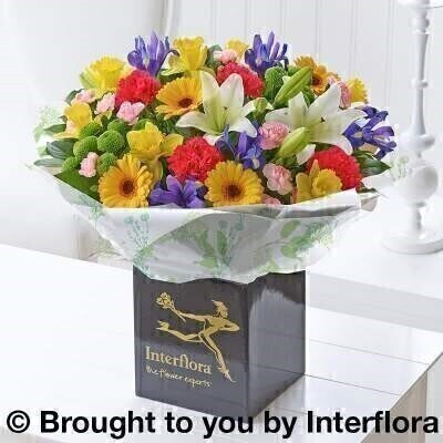 Spring favourite flowers large arrangement