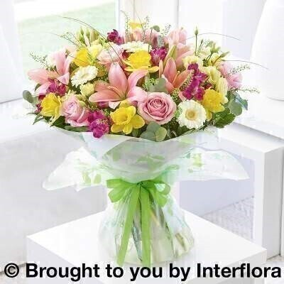 Spring Radiance Hand-Tied - Extra Large: Booker Flowers and Gifts