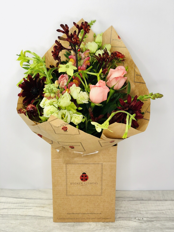 Autumn Flowers in Water