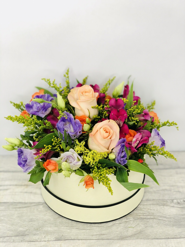 Tutti Frutti Hat Box: Booker Flowers and Gifts