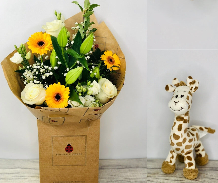 Twinkle Twinkle Hand Tied and Teddy: Booker Flowers and Gifts