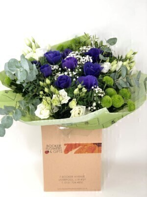 Ultra Violet Spring Anemone Bouquet: Booker Flowers and Gifts