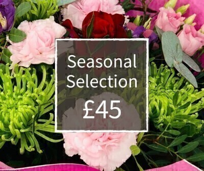 Valentines Florist Choice 45 - Seasonal Handtied: Booker Flowers and Gifts