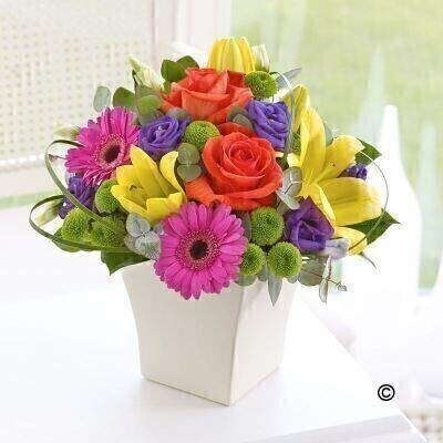 Vibrant Exquisite Arrangement: Booker Flowers and Gifts