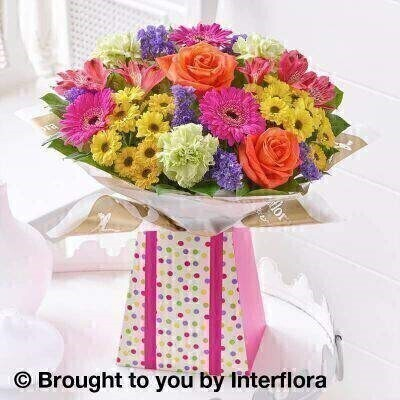 Vibrant Gift Box - Large: Booker Flowers and Gifts