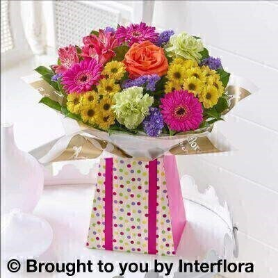 Vibrant Gift Box - Standard: Booker Flowers and Gifts