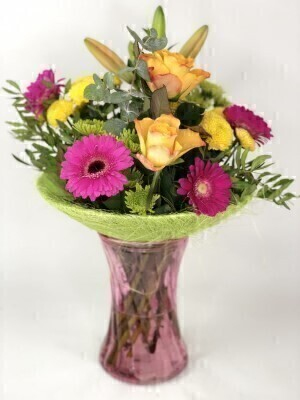 Vibrant Perfect Gift Plus: Booker Flowers and Gifts