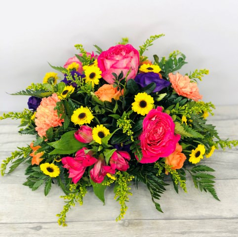 Vibrant Table Arrangement