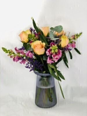 Wanderlust Vase of Flowers: Booker Flowers and Gifts
