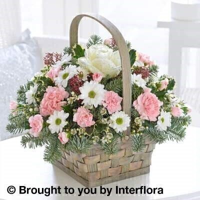 Winter Artic Beauty Basket: Booker Flowers and Gifts