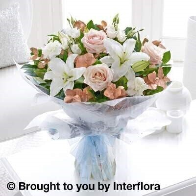 Winter Sophistication Hand-tied - STANDARD: Booker Flowers and Gifts