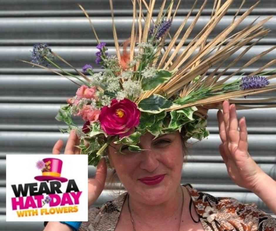 Booker Flowers and Gifts Raising Money for Brain Tumour Research Wear a Hat with Flowers Day