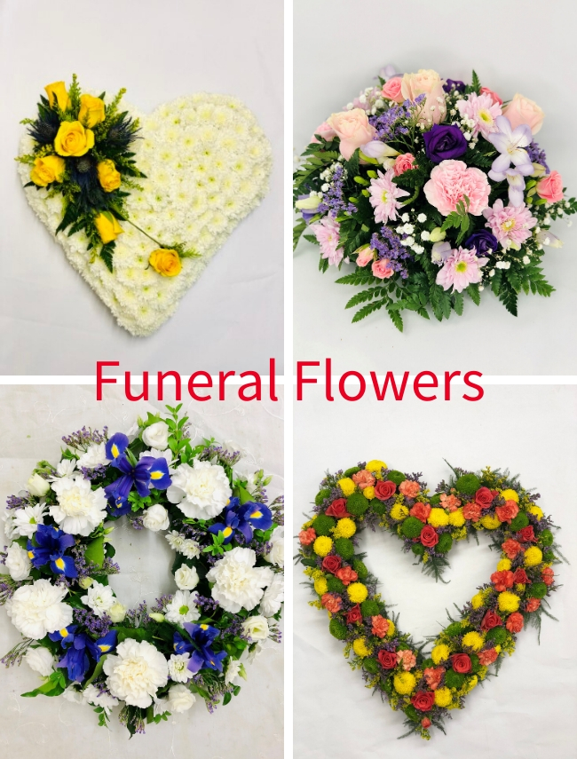 Funeral Flowers for Liverpool including Bespoke Funeral Tributes
