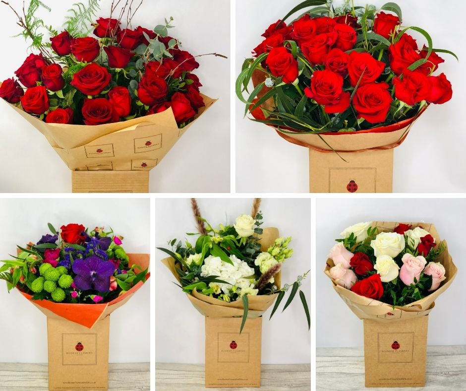 Types of Valentines Day Flowers for Liverpool Flower Delivery from Liverpool Florist