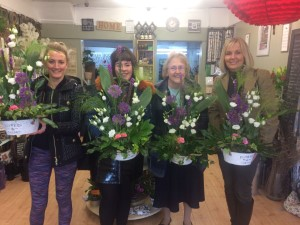 Winter Flower School - 25th February 2020