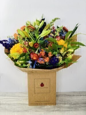 We have a wide selection of Autumn Flowers - we offer Flower Delivery Liverpool. We can provide Autumn Flowers for you in Liverpool - Merseyside and can organize Autumn Flower deliveries for you Nationwide. Our Autumn collection heralds the end of summer - and an array of mellow seasonal shades such as russet - amber - crimson - burgundy and burnt orange. Our flowers for Autumn are rich and colourful - full of earthy natural hues and luxurious textures.  Reflecting the spirit of the season - weandrsquo;ve created an abundant selection of Autumn flowers and bouquets for you to choose from. From traditional - classic arrangements to beautiful designs that offer a contemporary take on the seasonal colour palette - youandrsquo;ll be spoilt for choice.