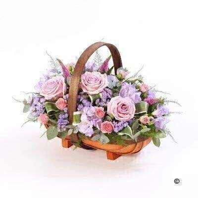 We have a large range of Basket Funeral Flowers. We offer Flower Delivery Liverpool.  We can provide Basket Funeral Flowers for you in Liverpool - Merseyside and can organize Funeral flower deliveries for you Nationwide.  Your Basket Funeral Flowers will be handmade - by our professional florists - and delivered to the Funeral Director or Private House if you prefer. Remember Booker Flowers and Gifts for Funeral Flowers delivered in Liverpool - Merseyside and beyond.