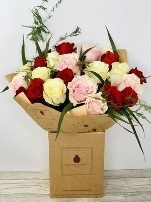 We sell a large range of Love and Romance Flowers and Remember we offer Flower Delivery Liverpool and we can provide Love and Romance Flowers for you in Liverpool - Merseyside and can organize Love and Romance flower deliveries for you Nationwide Your Love and Romance Flowers will be handmade by our professional Florists and delivered to your loved one by hand with a smile. Remember Booker Flowers and Gifts for Love and Romance Flowers delivered in Liverpool - Merseyside and beyond.We offer Flower Delivery Liverpool and same day flower delivery and all our flowers hand arranged by our Florists are backed by our 7 day freshness guarantee