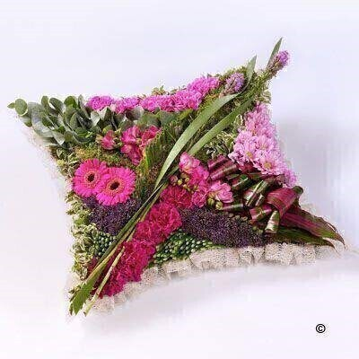 We have a large range of Pillow Funeral Tributes. We offer Flower Delivery Liverpool.  We can provide Pillow Funeral Flowers for you in Liverpool - Merseyside and can organize Funeral flower deliveries for you Nationwide.  Your Pillow Funeral Tribute will be handmade - by our professional florists - and delivered to the Funeral Director or Private House if you prefer. Remember Booker Flowers and Gifts for Funeral Flowers delivered in Liverpool - Merseyside and beyond.