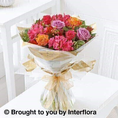 <h2>Autumn Flowers Hand Tied Arrangement</h2>