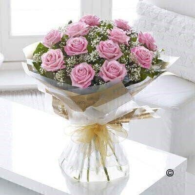 <h1>Pink Rosesandnbsp;- Flowers in Water</h1>
