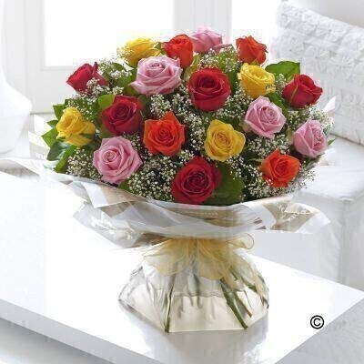 <h1>Mixed Rosesandnbsp;- Flowers in Water</h1>