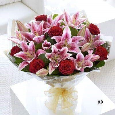 <h1>Red and Pink Flowers - Flowers in Water</h1>