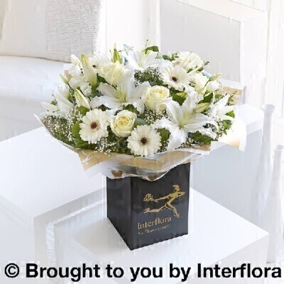 <h1>Whiteandnbsp;Flowers - Flowers in Water</h1>