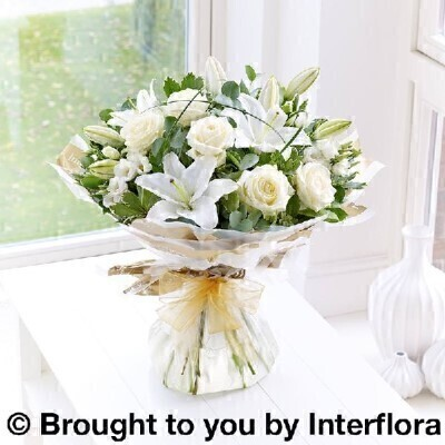 <h1>White Flowersandnbsp;- Flowers in Water</h1>