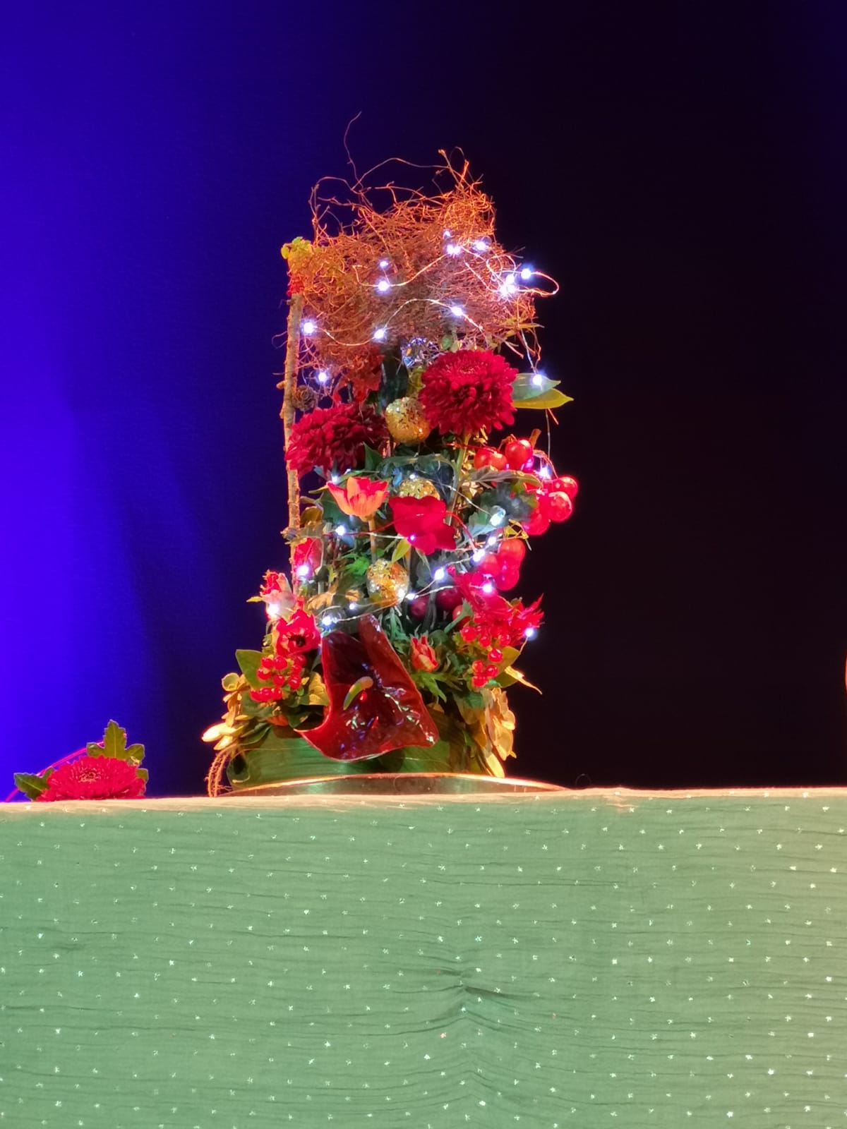 The Nutcracker arrangement made by Fleur from Booker Flowers and Gifts
