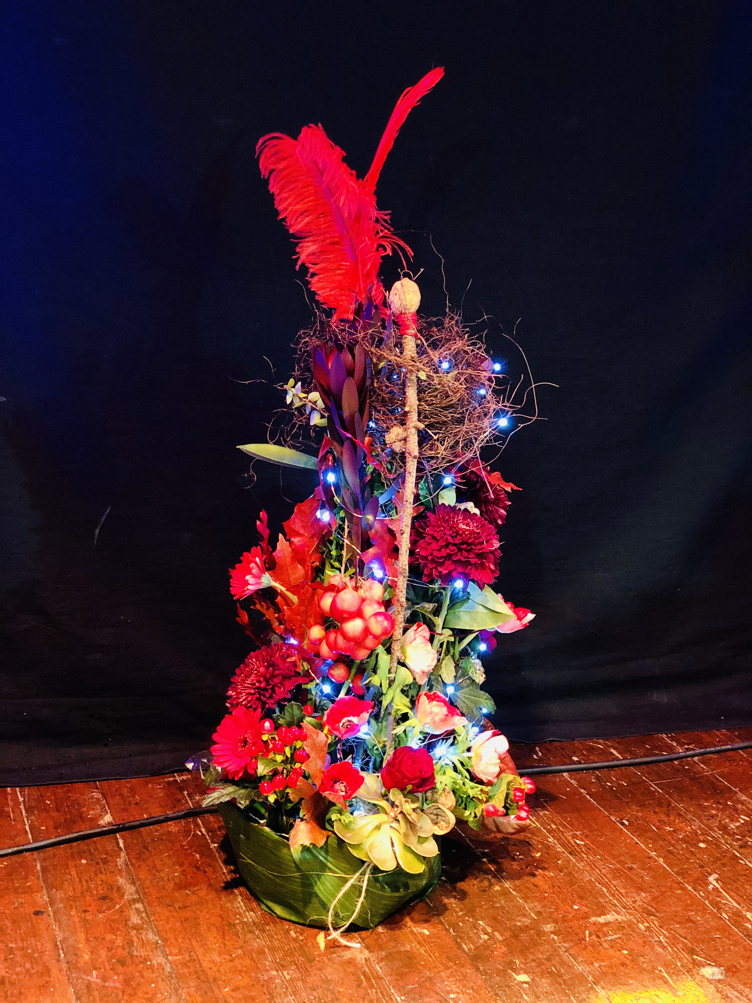 The Nutcracker Arrangement won in our Charity Raffle