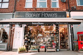 Booker Flowers and Gifts Liverpool Shop Front