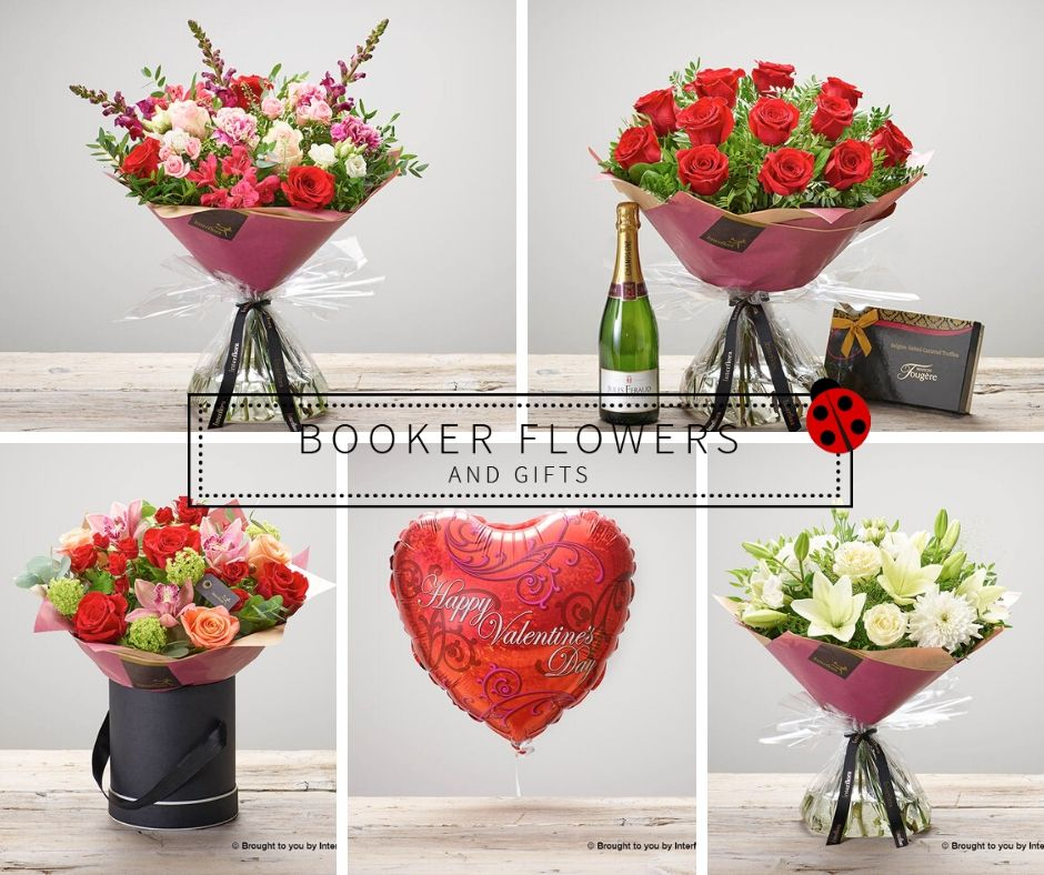 Valentine's Day Collection from Booker Flowers and Gifts